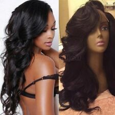 100% Remy Peruvian Human Hair Lace Front 360 Wig Natural Curly Full Lace Wig Fb0