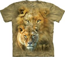 African Royalty Lion T Shirt Adult Unisex The Mountain