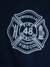 Kingsville Maryland Fire Department 48 Adult T Shirt Size S/M