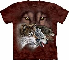 Find 9 Wolves Wolf T Shirt Child Unisex The Mountain