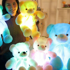 nounours peluche Light-Up-LED-Teddy-Bear-Stuffed-Animal-Plush-Toy-Colorful