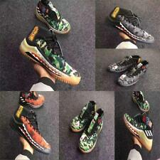 Men's Running Shoes Camo Lace-up Shark Bape Athletic Sneakers A Bathing Ape