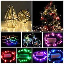 30LED Fairy String Light Copper Decor Lamp Wire Battery Operated Party Light