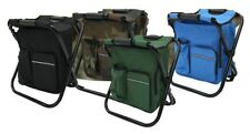 Fishing Chair 3In1 Camouflage Multifunctional Military Cooler Bag Backpack Stool