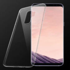 Clear Crystal Soft TPU Silicone Case Cover Skin For Samsung Galaxy S9 / S9 Plus