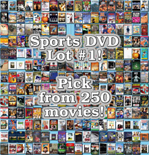Sports DVD Lot #1: DISC ONLY - Pick Items to Bundle and Save!