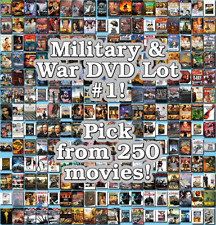 Military & War DVD Lot #1: DISC ONLY - Pick Items to Bundle and Save!