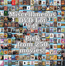 Miscellaneous DVD Lot #4: DISC ONLY - Pick Items to Bundle and Save!