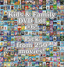 Kids & Family DVD Lot #6: DISC ONLY - Pick Items to Bundle and Save!