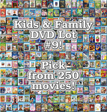 Kids & Family DVD Lot #9: DISC ONLY - Pick Items to Bundle and Save!