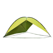 Outdoor Large Two-sided Triangle Camping Tent UV Beach Sunshade Canopy Awning