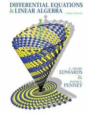 Differential Equations and Linear Algebra (3rd Edition) by Edwards, C. Henry, P