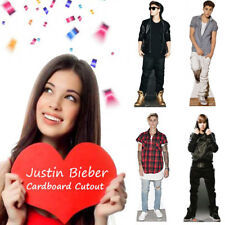 Made in USA JUSTIN BIEBER Lifesize CARDBOARD CUTOUT Standee Standup Poster