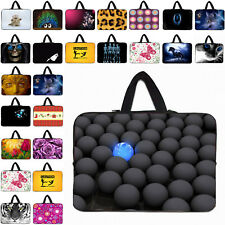 """10"""" 12"""" 13"""" 14"""" 15.4"""" 15.6"""" 17"""" Laptop Carry Sleeve Bag Cover Handle Case Pouch"""
