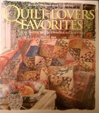 Better Homes and Gardens Quilt-Lovers' Favorites Vol. 5  Pattern Packet Included