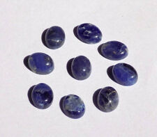 Wholesale Lot Rare Sodalite Oval Smooth Cabochon Handmade Jewelry Loose Gemstone