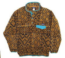 PATAGONIA Men's Synchilla Snap-T Pullover M Aztec Native Tribal Fleece
