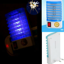 LED Socket Electric Mosquito Fly Bug Insect Trap Killer Zapper Night Lights Hot