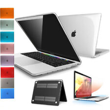 """Clear Case  For Macbook Air 11 Pro 13/15 Retina 12"""" Rubberized Hard Shell Cover"""