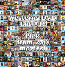 Westerns DVD Lot #1: DISC ONLY - Pick Items to Bundle and Save!