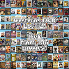 Westerns DVD Lot #2: DISC ONLY - Pick Items to Bundle and Save!