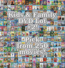 Kids & Family DVD Lot #2: DISC ONLY - Pick Items to Bundle and Save!