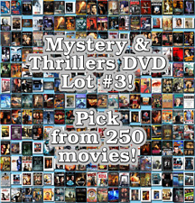 Mystery & Thrillers DVD Lot #3: DISC ONLY - Pick Items to Bundle and Save!