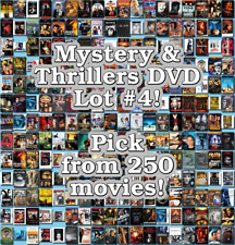 Mystery & Thrillers DVD Lot #4: DISC ONLY - Pick Items to Bundle and Save!
