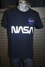 Alpha Industries T-Shirt Nasa Reflective T 178501/07 Repl. Blue Space Shuttle