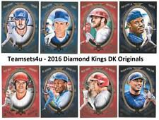2016 Diamond Kings DK Originals Collection Baseball Set ** Pick Your Team **