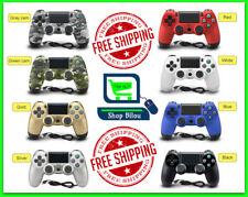 White Red Blue PS4 PlayStation4 Dualshock 4 Joystick Gamepad Wired Controller