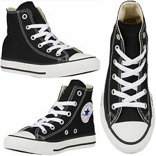 CONVERSE Kids/Baby ALL STAR Black Chuck Taylor HI Youth Sneakers New in Box