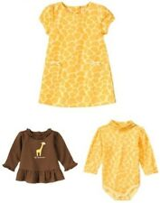 Gymboree Baby Giraffe Top Bodysuit Dress 0 3 6 NWT Choice