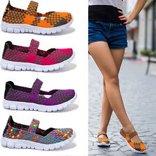 Womans Shape Ups Walking Fitness Toning Shoes Platform Wedges Creeper Sneakers