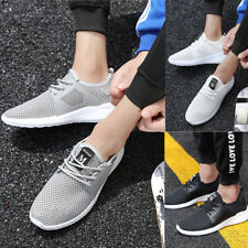 Mens Outdoor Summer Sports Shoes Breathable Mesh Running Trainers Sneakers Size