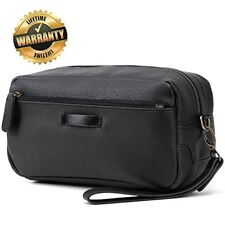 Toiletry Travel Bag Mens Leather Shaving Dopp for Men with Hanging Strap Other