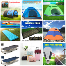 Portable Outdoor Travel Bag Inflatable Mat Foldable Tent Bed Sunbath Pad Camping