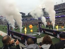 2 tickets - New Orleans Saints at Baltimore Ravens. 3rd row by the tunnel! 10/21