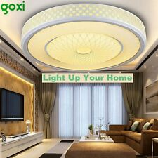 GOXI 1200LM Modern LED Round Ceiling Light Flush Mount Home Bedroom Fixture Lamp