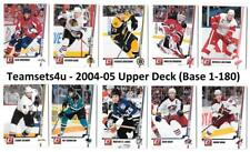 2010-11 Donruss (1-250) Hockey Set ** Pick Your Team ** Checklist in description