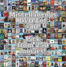 Miscellaneous DVD Lot #10: DISC ONLY - Pick Items to Bundle and Save!