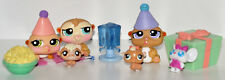 Littlest Pet Shop Hamster Family Birthday Set - with Accessories - 5 Hamsters
