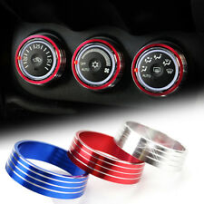 For Outlander Lancer EVO Heater Climate Control Switch Panel Buttons Knobs Cover
