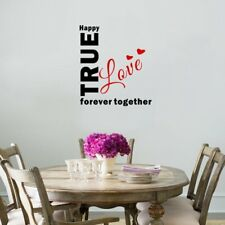 TURE LOVE Wall Sticker Decal Mural Home Decor Living Room Bedroom Kitchen HH5656