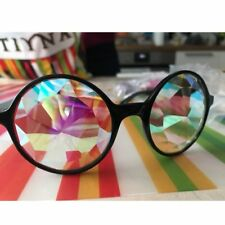Kaleidoscope Rainbow Glasses Prism Refraction Goggles for Festivals Rave Party