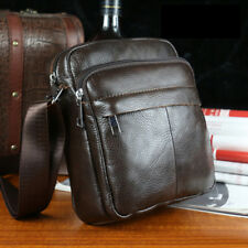 Bag Genuine Leather Shoulder Men Messenger Briefcase Handbag Bags Crossbody Top