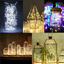 10M 100 LEDs Battery Operated Mini LED Copper Wire Christmas String Fairy Lights