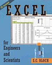 Excel for Engineers and Scientists by Sylvan C. Bloch (2000, Paperback)