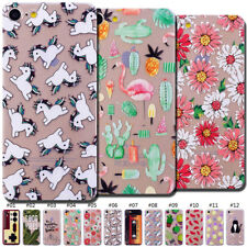 For Apple iPhone 7/8 Protective Soft Clear Skin Cute TPU Case Cover Pattern Back