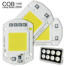 20W 30W 50W LED COB Chip Bulb Input Integrated Floodlight 110V 220V Smart IC